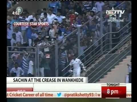 West Indies gives Guard of Honour to Sachin Tendulkar