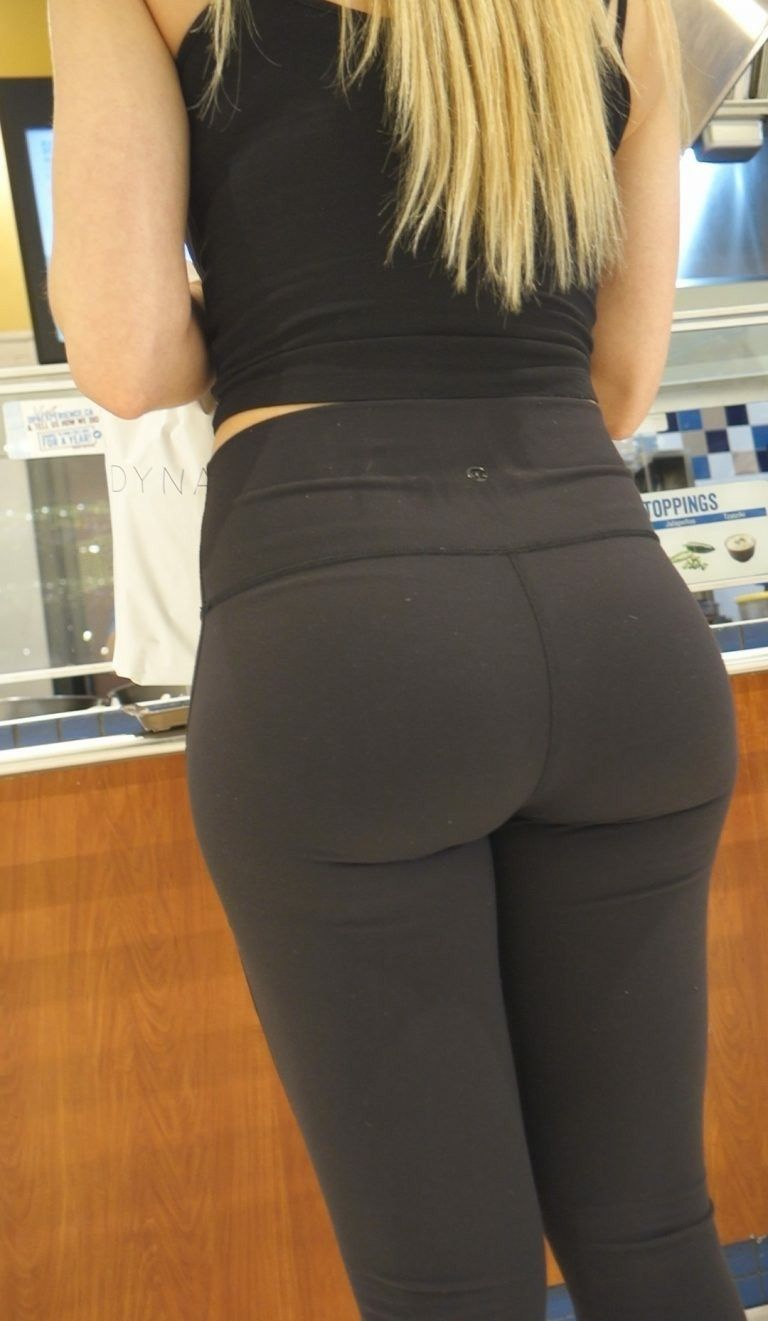 Creepshots  Mikes  Pants, Yoga Pants, Workout Pants-3440