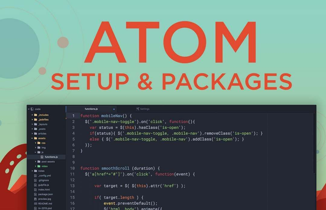 Atom (text editor) Atom is a free and open-source text and