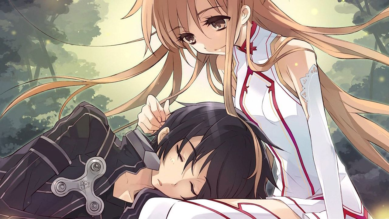 Asuna And Kirito Are Sooo Cute Together Im Do Glad They Got Married