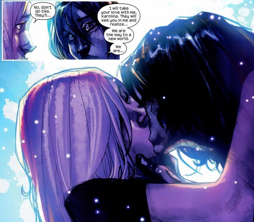 Karolina Dean & Xavin | Runaways marvel, Avengers superheroes, Beautiful fantasy art