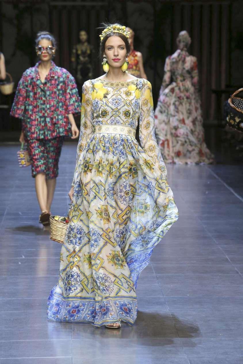 Abiti Da Cerimonia Dolce E Gabbana.Vestiti Da Cerimonia Lunghi 2016 Stile Di Moda Vestiti Sfilata