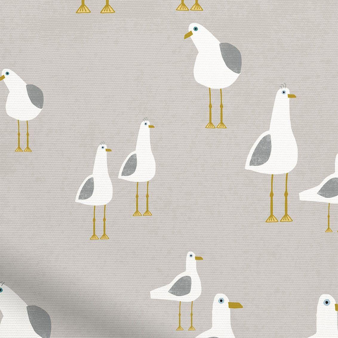 Splash Blackout Gulls Pebble Roller Blind Fabric Blinds