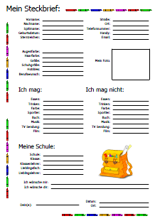 Schule Freundebuch Seiten Zum Ausdrucken Drucken Freunde Buch Freundebuch Bucher