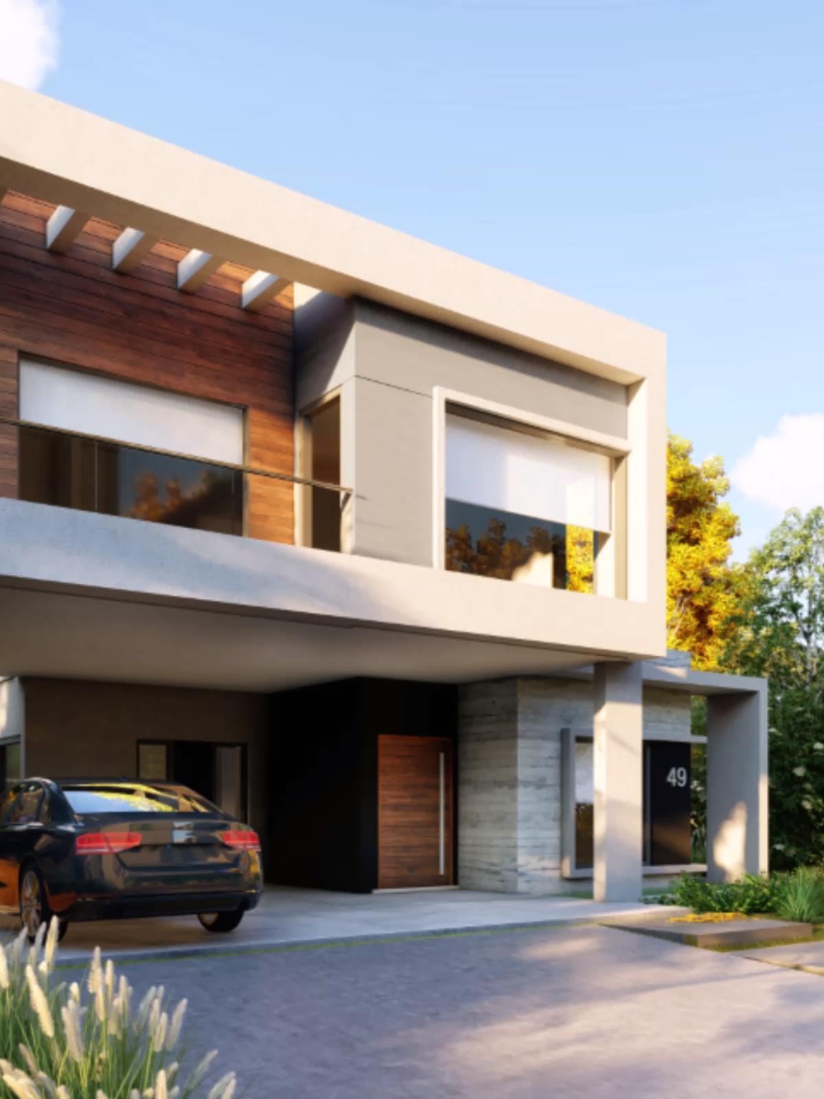 Photo of Design e architettura di una bella casa moderna in Argentina progetto dell'architetto Nicolás Negro