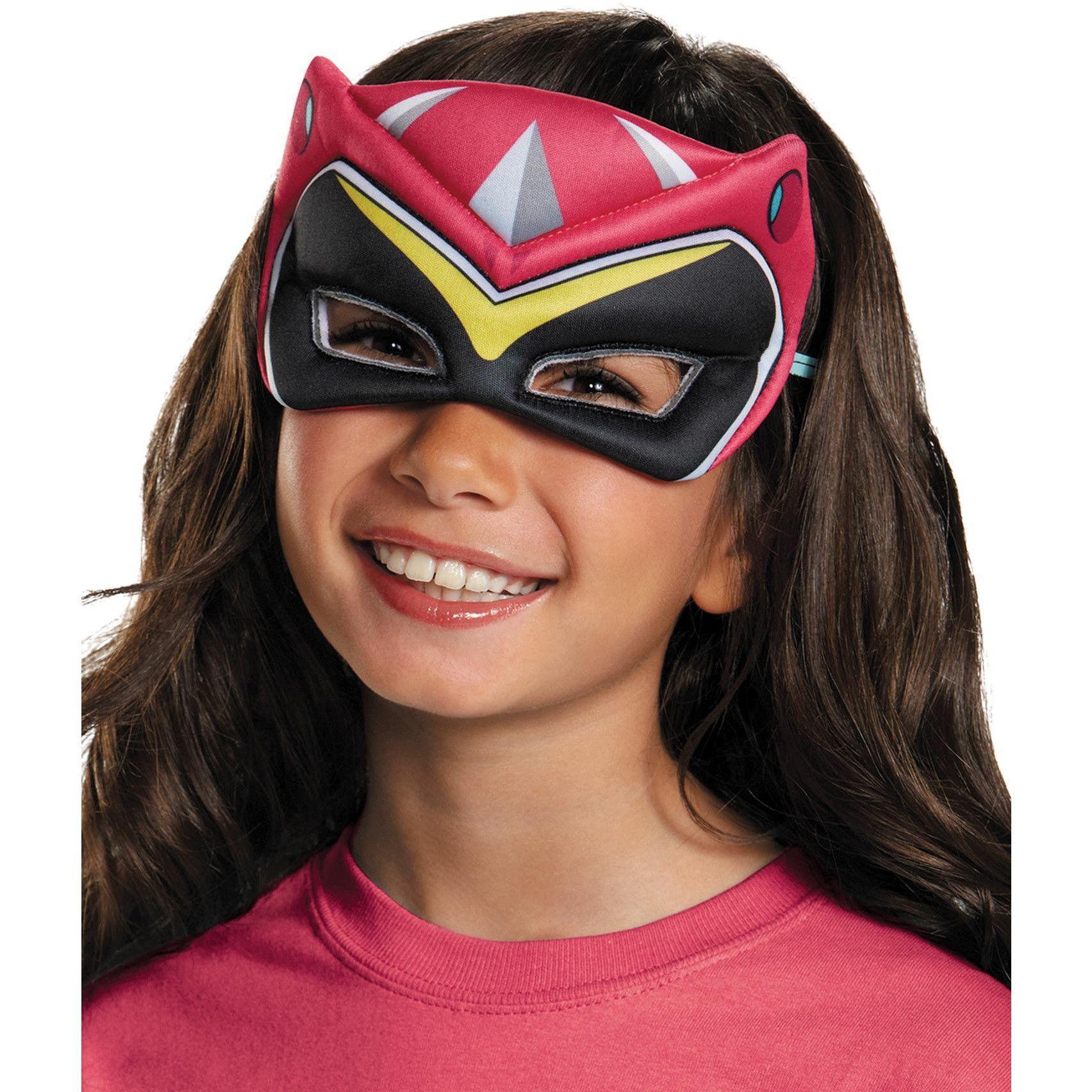 Pink Ranger Dino Puffy Mask   Masking