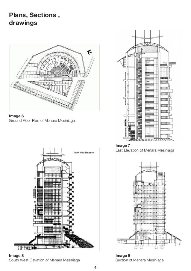Image Slidesharecdn Com Malaysia 140527005914 Phpapp01 95 Menara Mesiniaga Building Science Repor Cooling Techniques Ground Floor Plan Sustainable Architecture