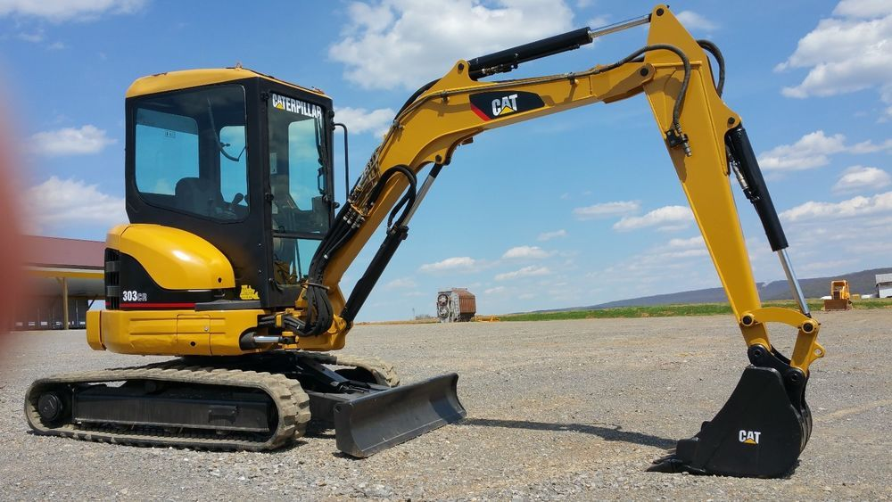 2003 Caterpillar 303CR Mini Excavator Hydraulic Diesel