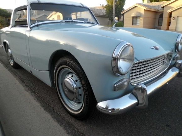 This 1962 Austin Healey Sprite MkII Chassis HAN6L515 is said to