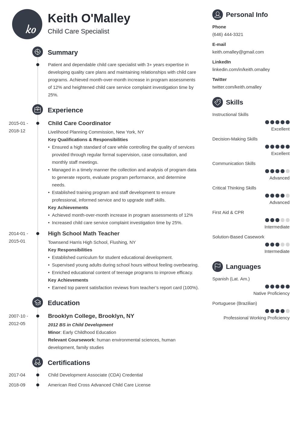 Child Care Resume Example Template Primo Resume Examples Job Resume Examples Resume