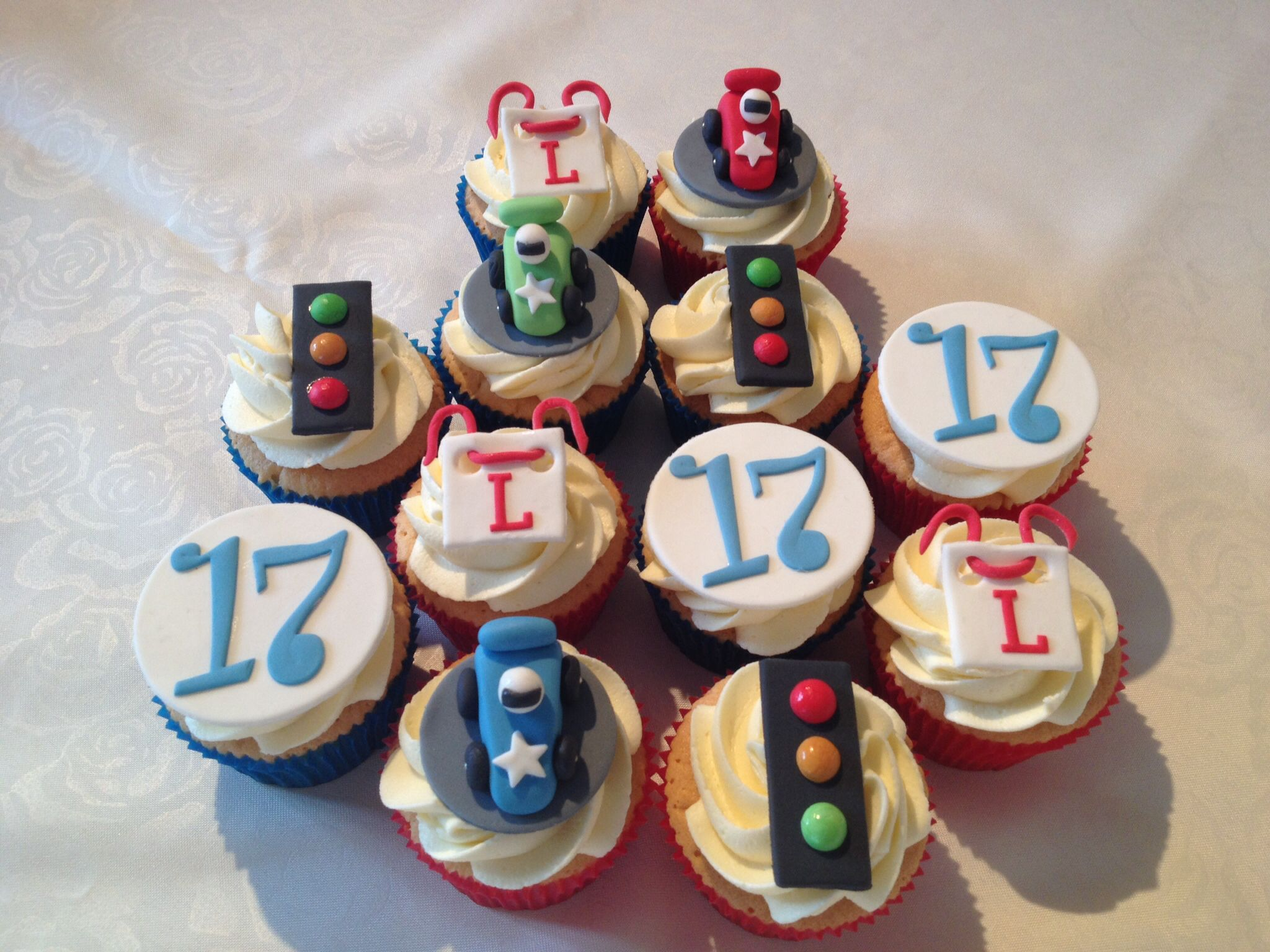 Our Oldest Grandson Turned 17 On The 26th With Images Cupcakes
