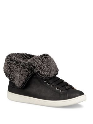 50de0e86eb5 UGG Starlyn Gryle Dyed Sheepskin Fur Sneakers. #ugg #shoes #sneakers ...