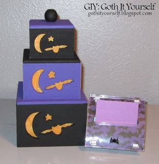 GIY:  Goth It Yourself: Gothing Up the Office Supplies