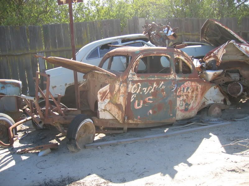 40\'s Ford dirt track car.. | RETIRED - FORGOTTEN OLD RACE CARS & HOT ...
