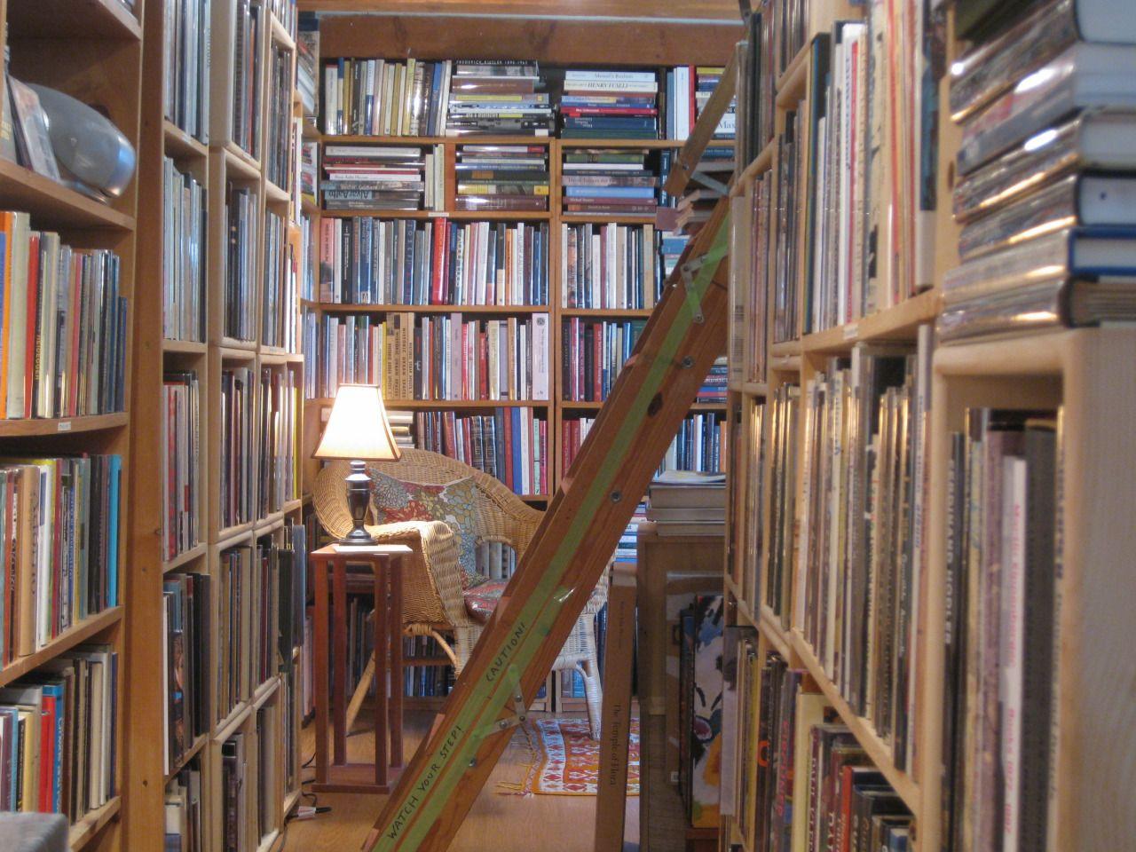Art Longwood Books. Rockport, MA | Inside art, Book nooks