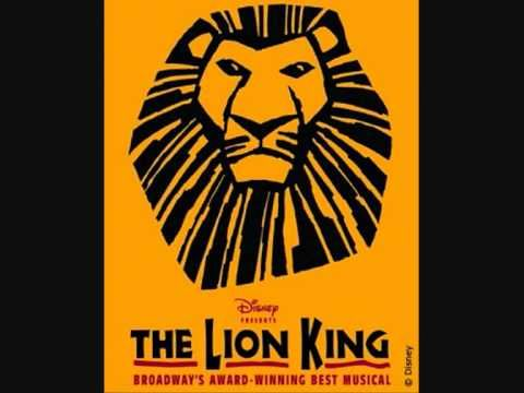 The Lion King On Broadway King Of Pride Rock Circle Of Life