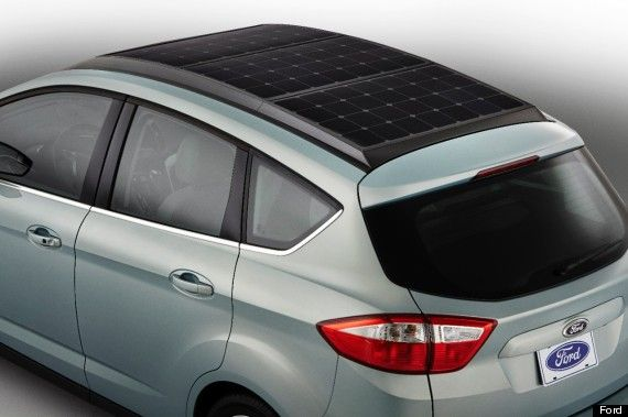Ford Is Making A Concept Car With Solar Panels For A Roof #automobile #technology