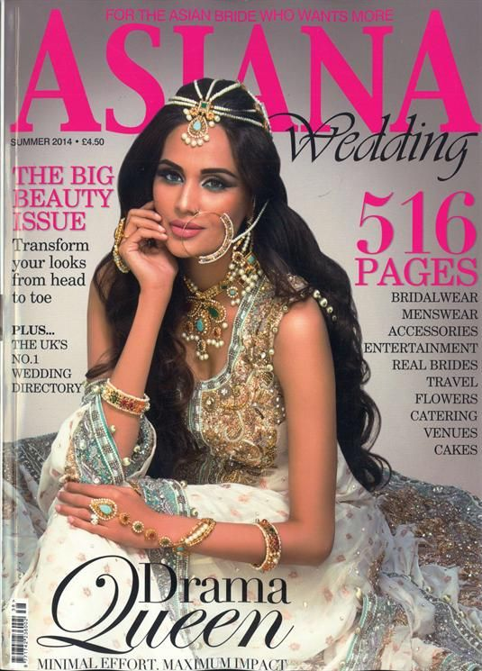 Asiana Wedding Magazine Subscription At Newsstand Co Uk Brides