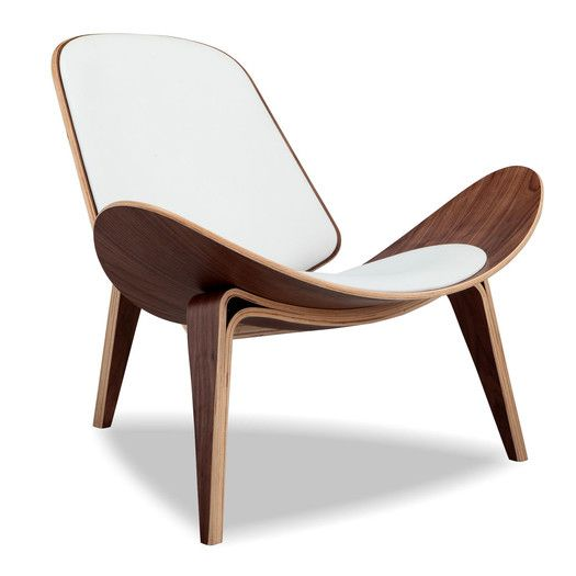 Lounge Chair in 2019 | Post modern wood furniture | Leather ...