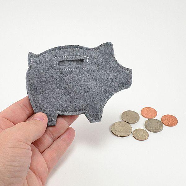 Felt Piggy Banks Tutorial - Dream a Little Bigger