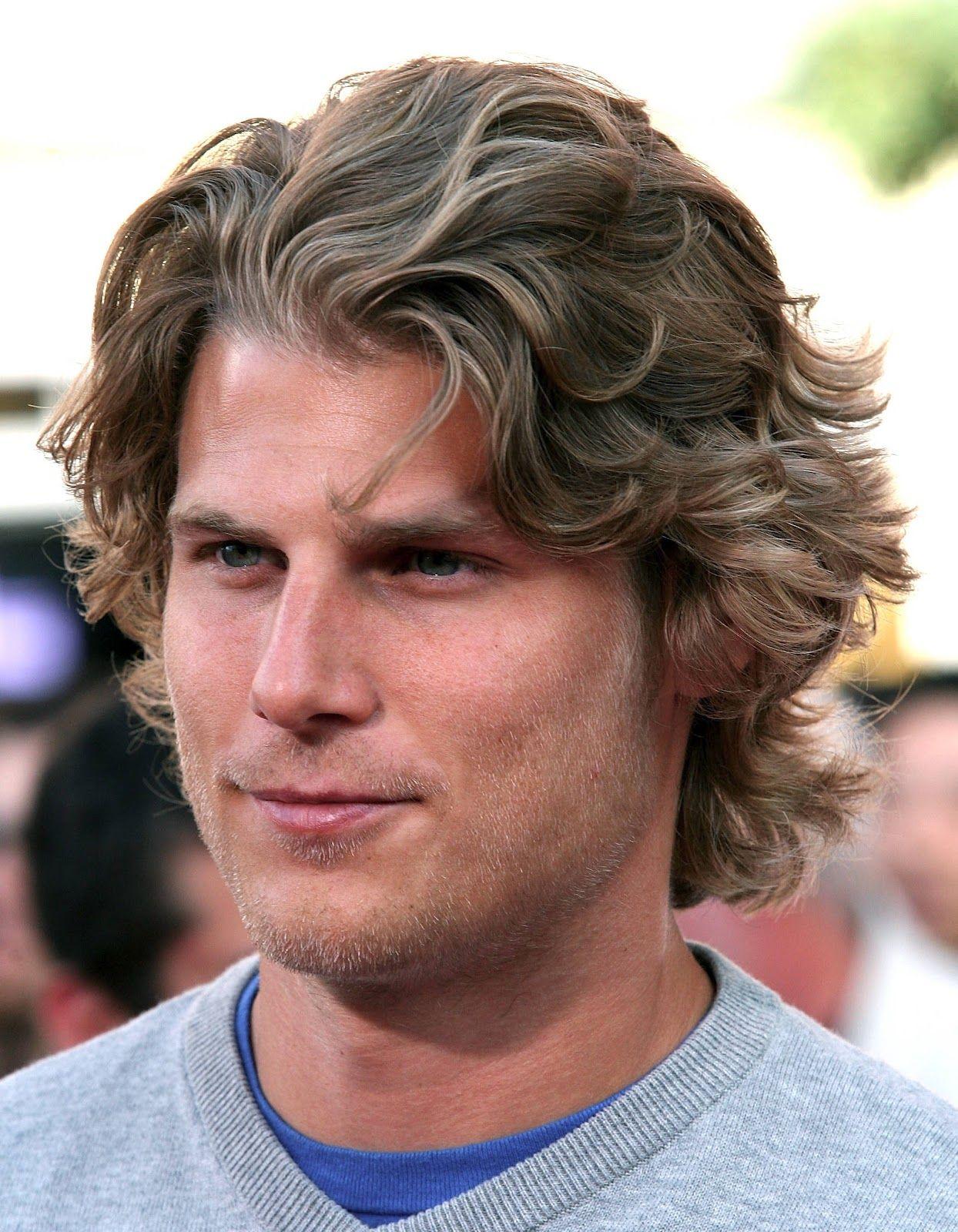 Curly mens haircuts mid length mens hair  google search  hairdo for men  pinterest