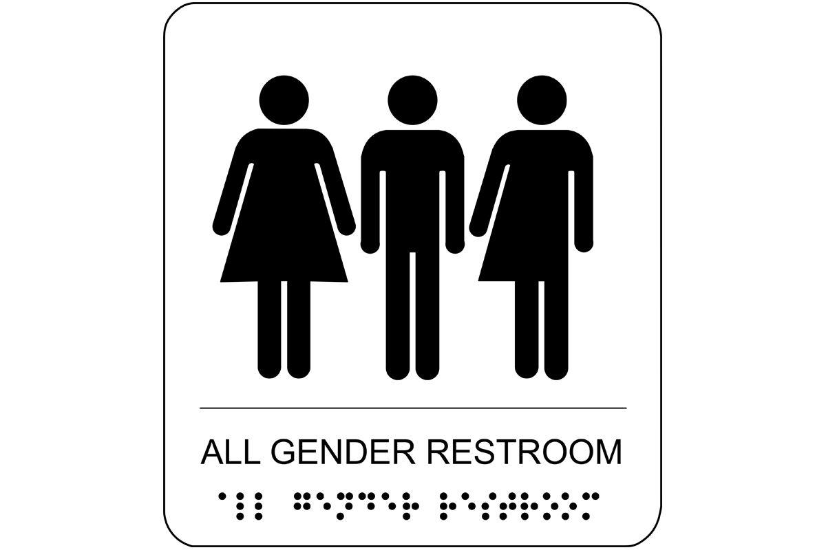 Gender Neutral Bathroom Sign Neutral Bathroom Gender Neutral Bathrooms Gender Neutral Bathroom Signs