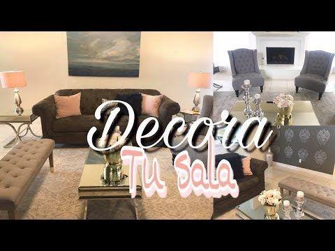 Ideas Para Decorar Tu Sala Elegante Y Bonita Youtube Como Decorar La Sala Como Decorar Tu Cuarto Decorar Salas