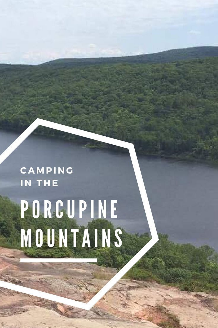 What To Know About Camping and Hiking In The Porcupine Mountains #hikingtrails