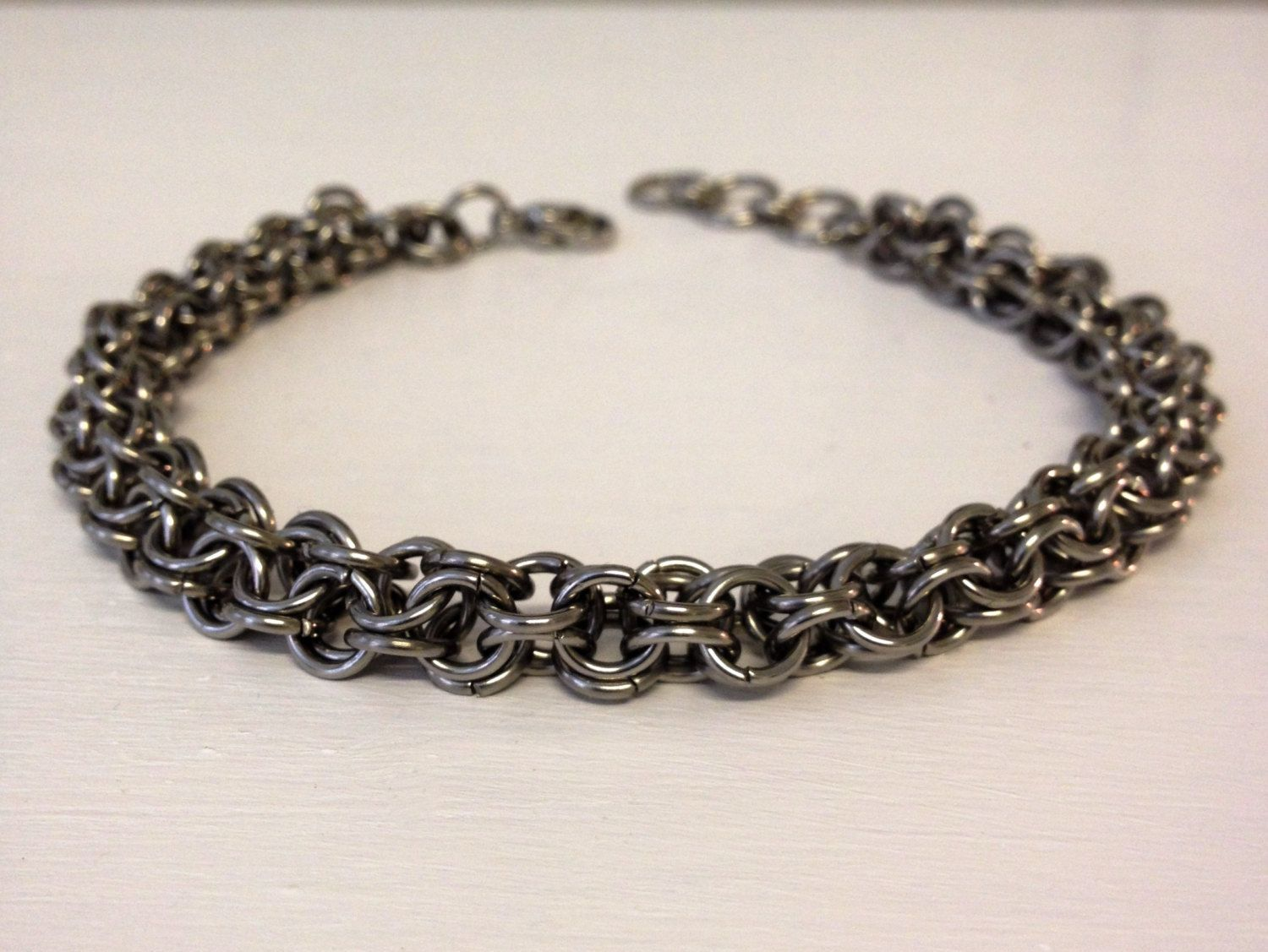 Stainless steel bracelet chainmail jewelry stainless steel jewelry
