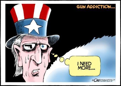 gun violence in America...