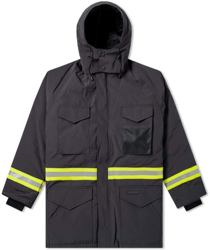 Junya Watanabe MAN x Canada Goose Reflective Taped Jacket ... 997d99e90327