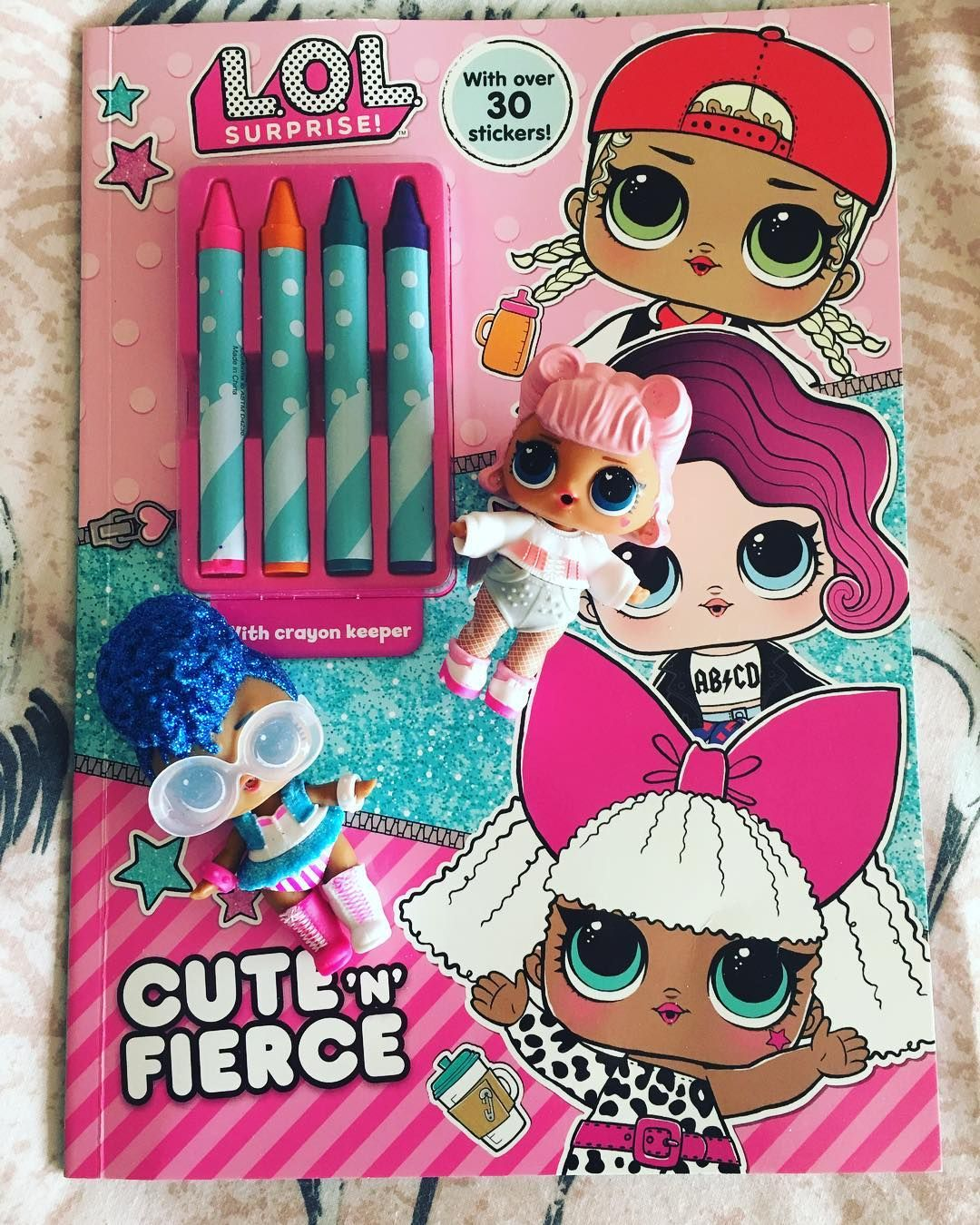 We Found Another New Lol Surprise Colouring Book With Crayons This Time From Theworksstores This Was Really Cool We Lo Fun Crafts For Kids Lol Dolls Elsa Toys