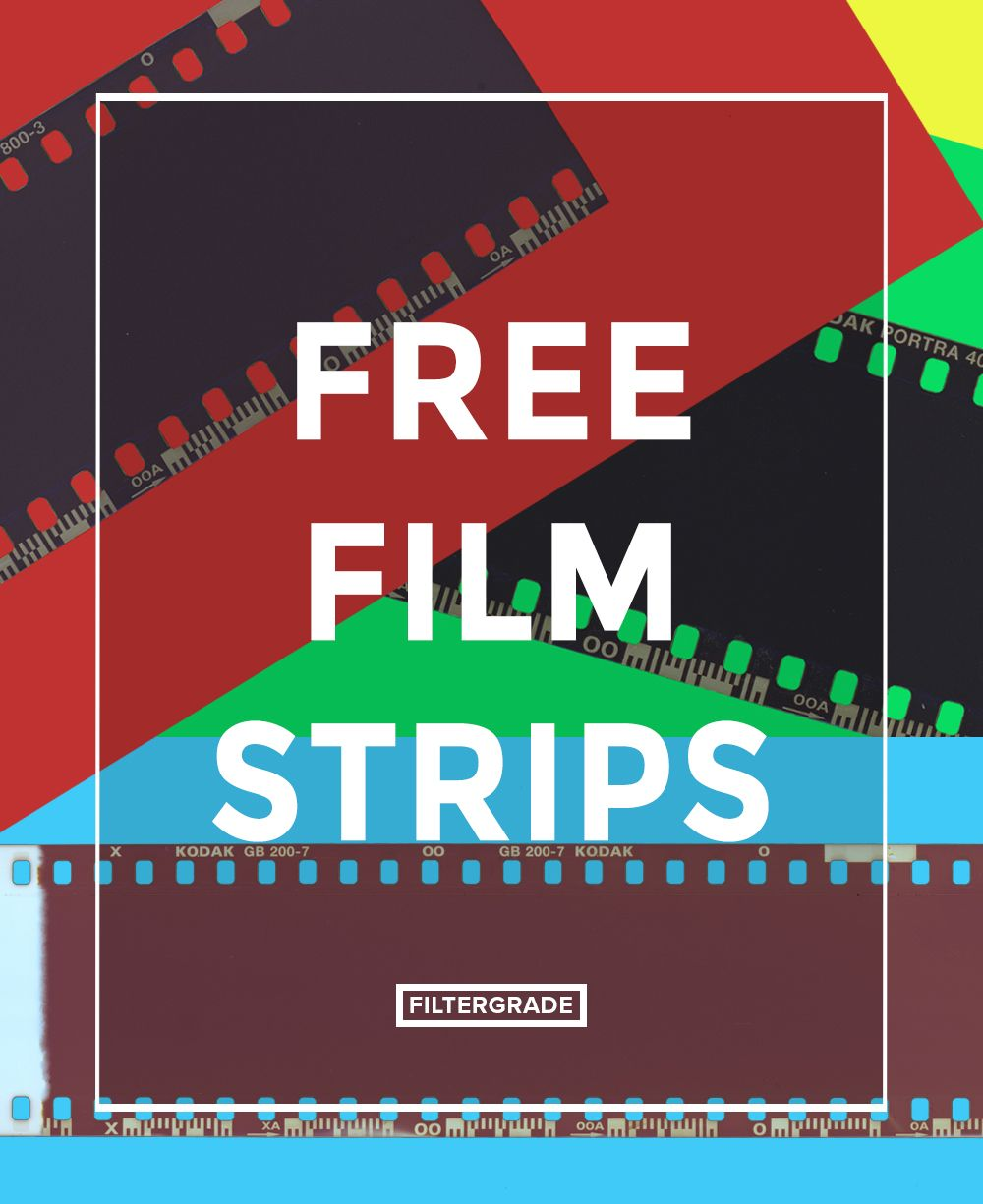 Free Film Strips Png Overlays For Media Projects Analog