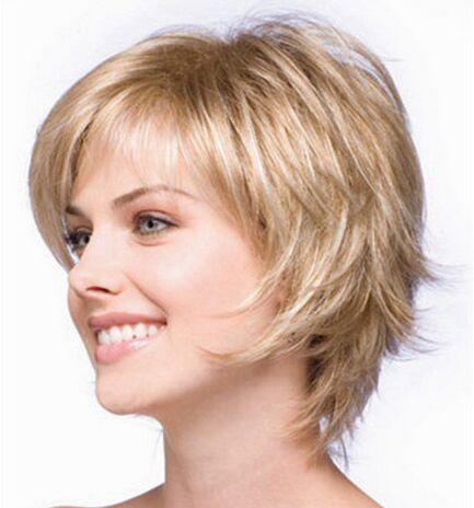 Achetez en Gros coupes de cheveux courts pour des photos