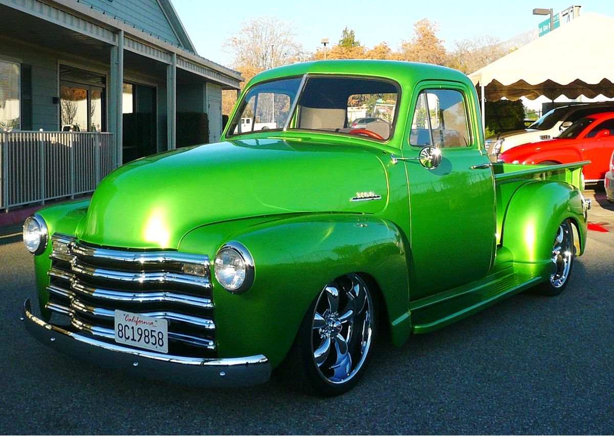 Images For  U0026gt  1953 Chevy Truck Lowrider