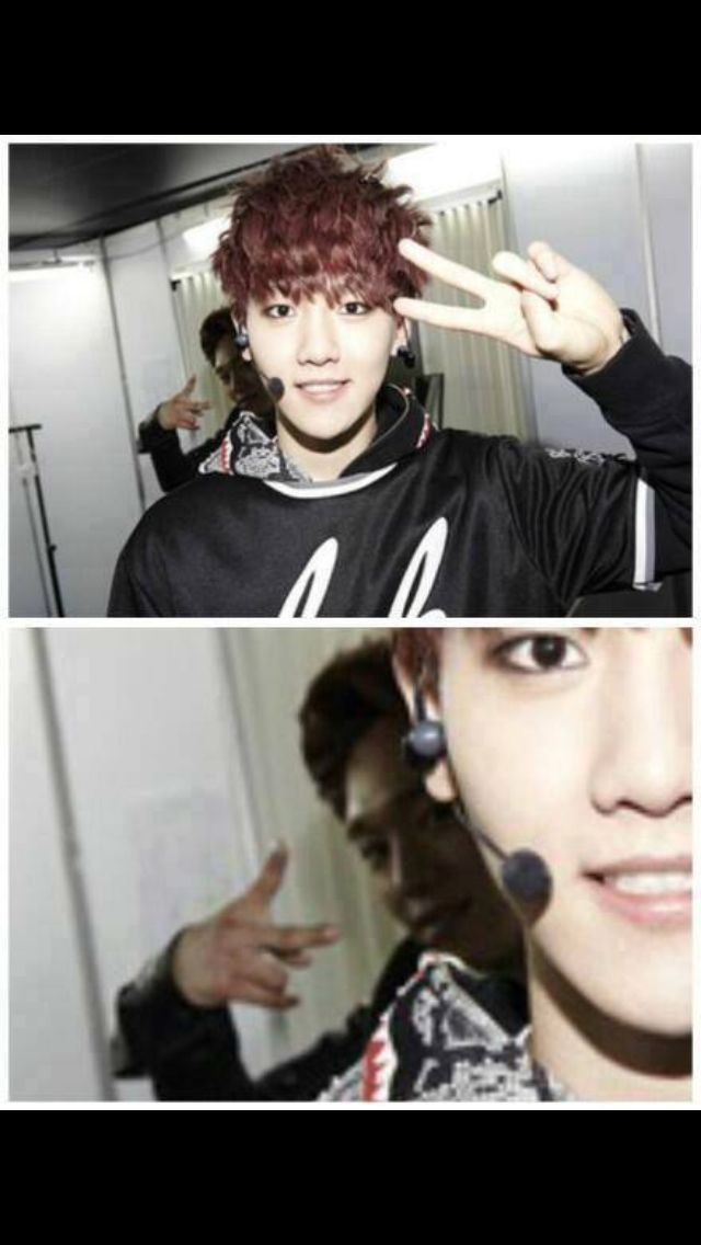 Creeper Photobomb level CHEN Youu0027ve been learning from Chanyeol