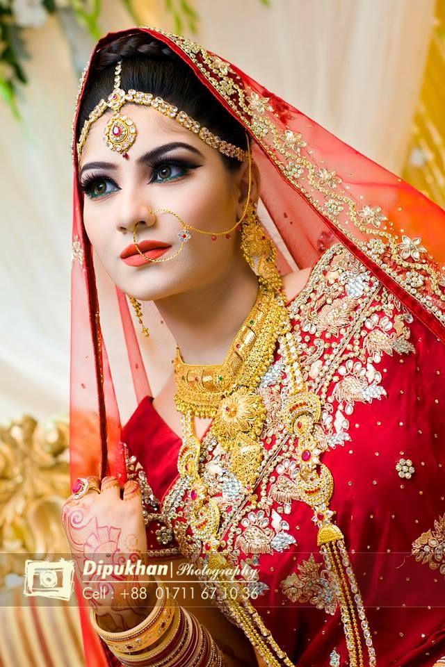 Bridal Beauty Beautiful Bangladeshi Brides
