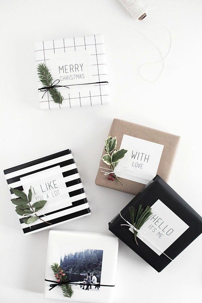 weihnachtsgeschenke verpacken eine tolle diy idee im skandinavischen stil weihnachtsbasteln. Black Bedroom Furniture Sets. Home Design Ideas
