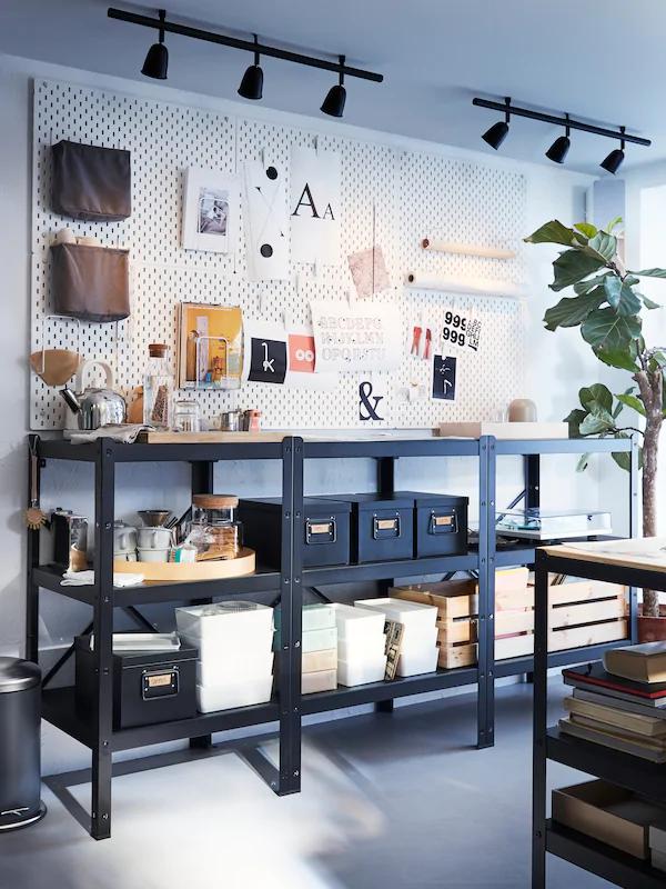 Ikea Us Furniture And Home Furnishings Ikea Boite De Rangement Salle D Artisanat Pegboard Ikea