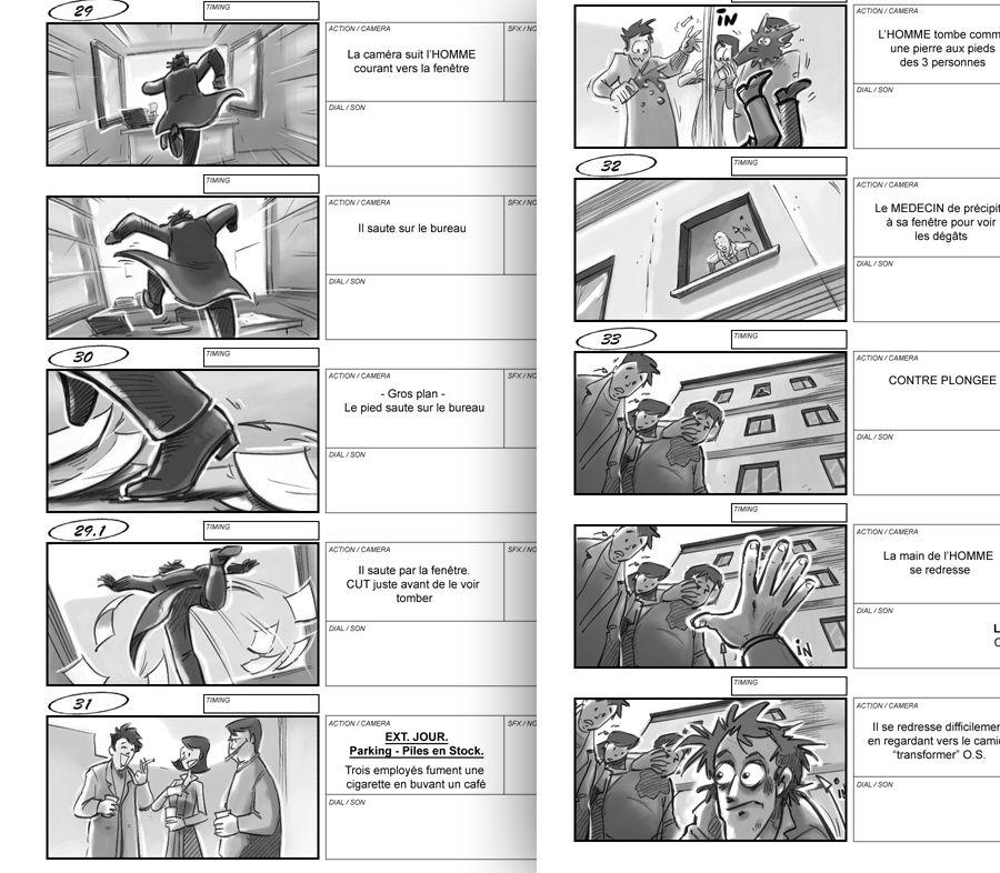 storyboard REF Cadrage Pinterest Storyboard - commercial storyboards