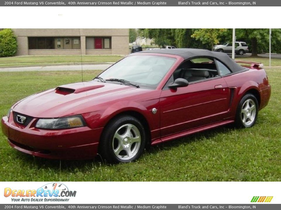 2004 Ford Mustang 40th Anniversary Stage 3 Convertible