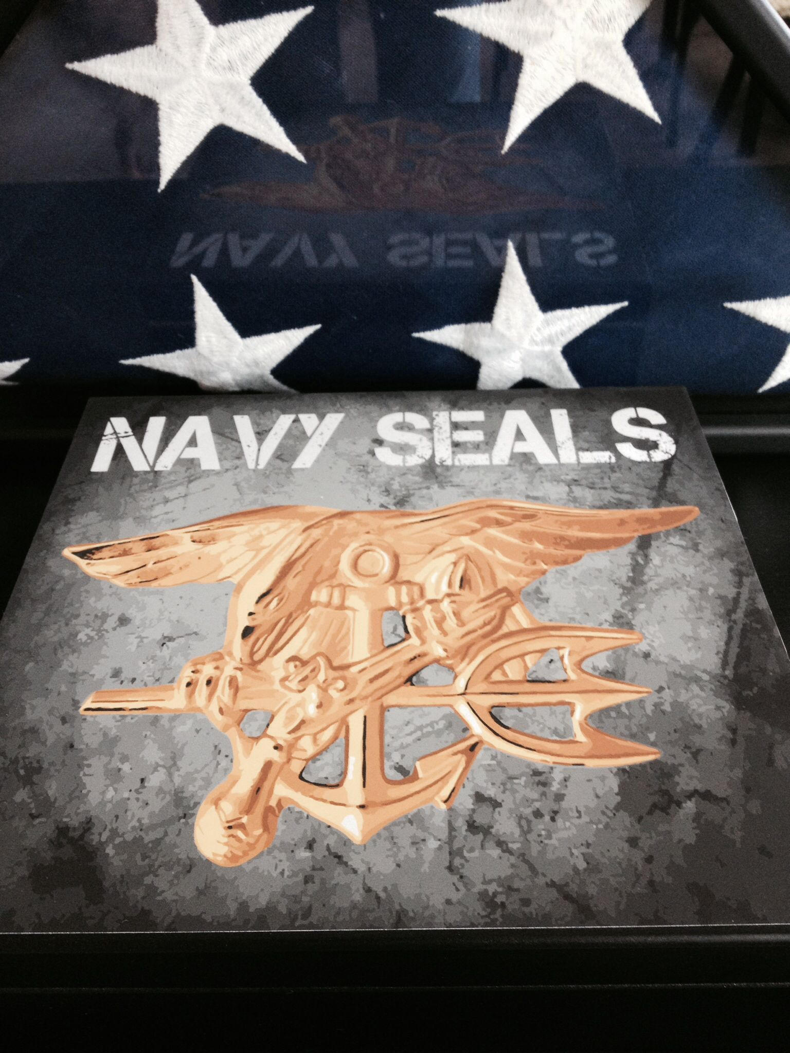 New humidor design with Navy Seal Trident Navy seals, Navy