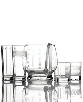 Beautiful Mikasa Barware #glassware #cheers #macys BUY NOW!
