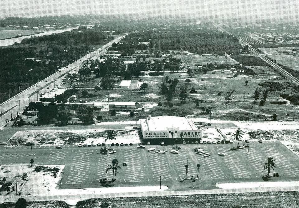 Sunshine Square Publix 1963 Boynton Beach FL Publix
