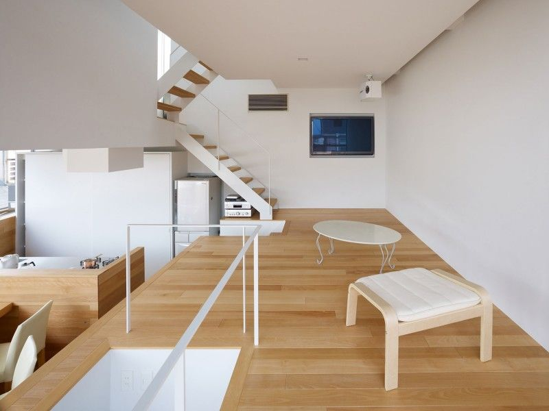 House in Matsubara by Fujiwarramuro Architects