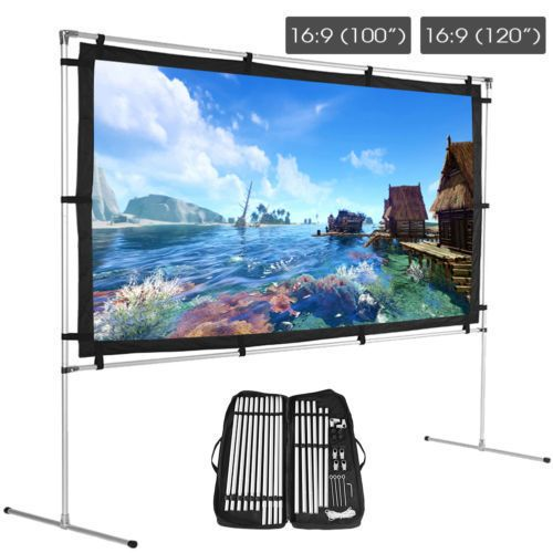 Durable 16 9 150inch Large Projector Screen for Outdoor ...