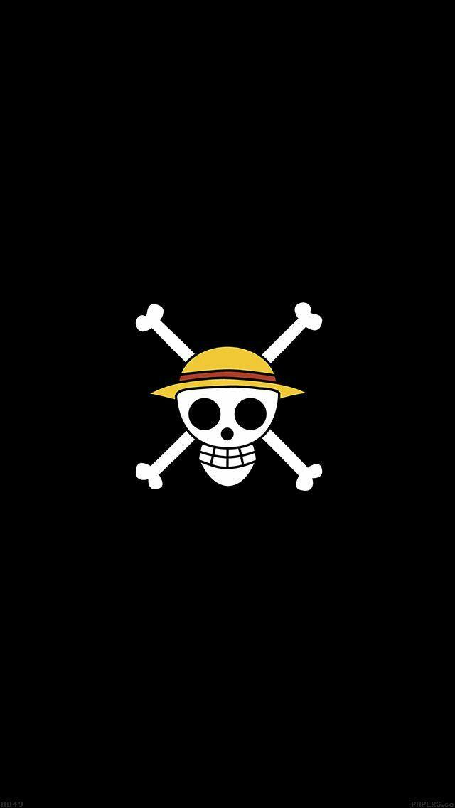 Straw Hats Pirates One Piece Logo One Piece Anime Skull Wallpaper