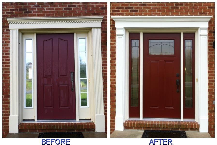 exterior door sidelights