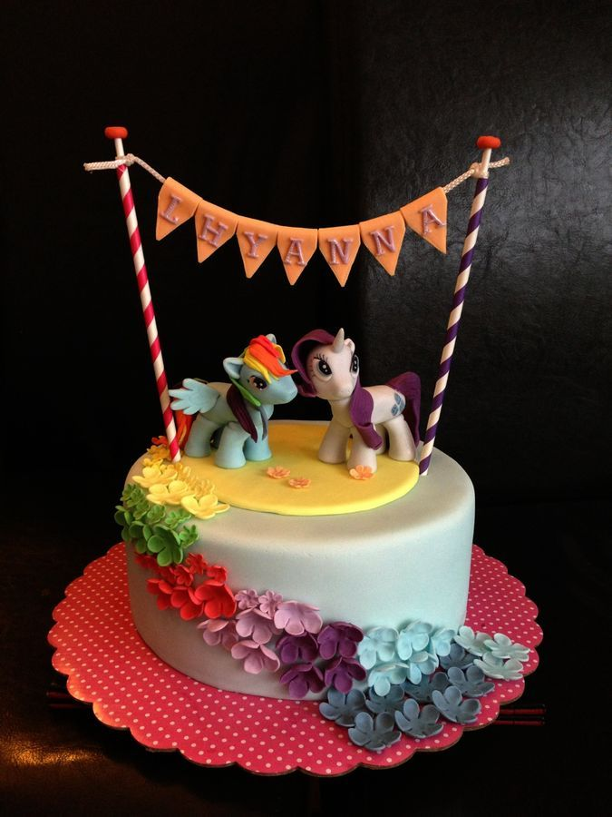 Made For A 5 Year Old My Little Pony Fan Girl Featuring Rainbow
