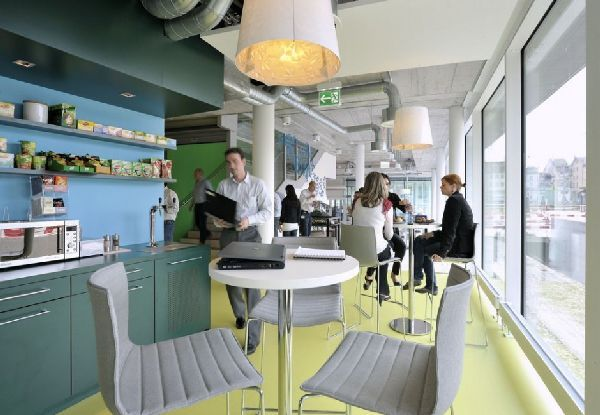 Awesome Micro Kitchen Design At New Office Interior For Unilever Headquarters By  Camenzind Evalution